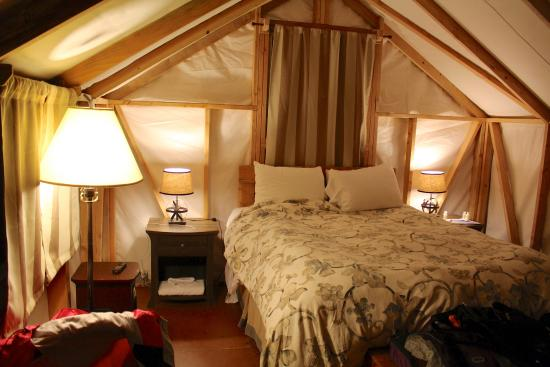 Fernwood Resort: our adventure tent