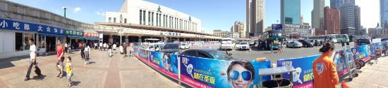 Zhuanghe, Kina: 大連駅前