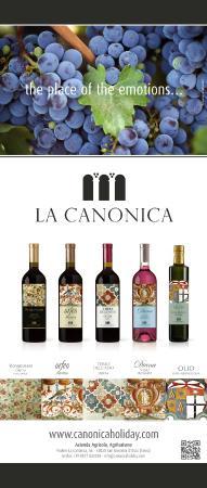 Farm Holiday La Canonica: i vini della Canonica