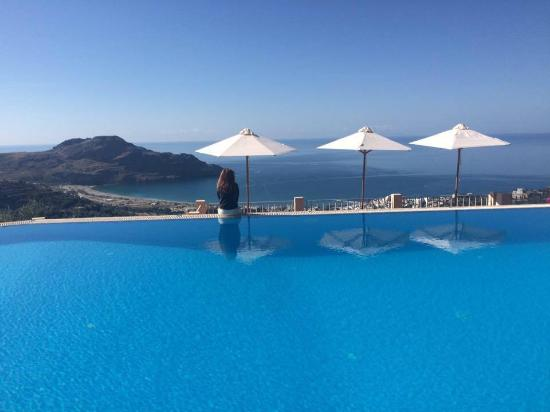 Stefanos Village Hotel : amazing view