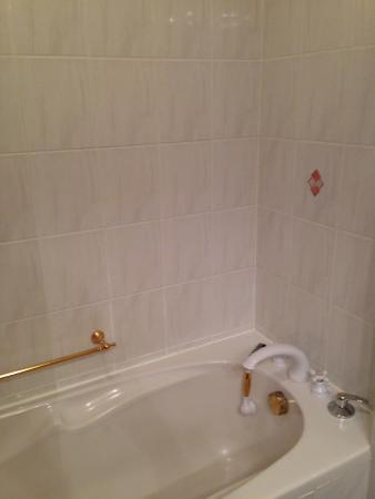 Hotel Vysehrad: Badewanne / Dusche