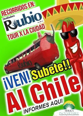 Hotel Plaza Rubio: NUESTRO TOURS