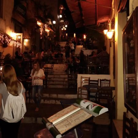 Elaia Restaurant : Steps of Plaka