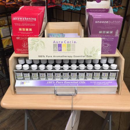 Tafton, PA: Aura Cacia Essential Oils