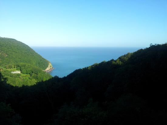 Woody Bay Hotel: The view from our room