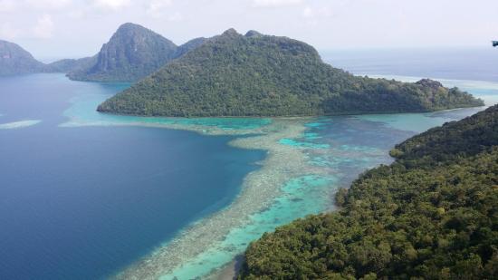 Semporna, ماليزيا: Bohey Dulang