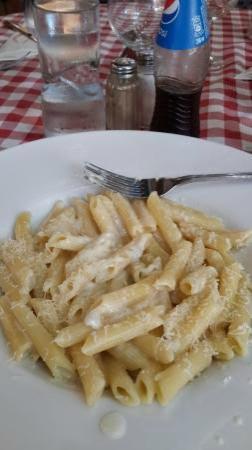 Pasta pasada y sosa