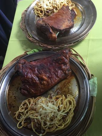Restaurante Gulliver: Deliciosa paella  e fantástico cordeiro