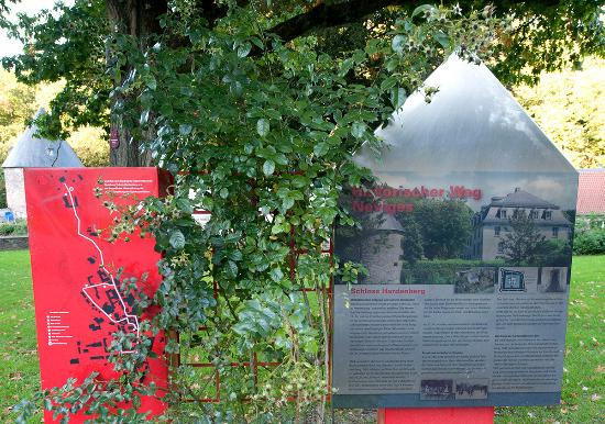 Velbert, Deutschland: Infotafel