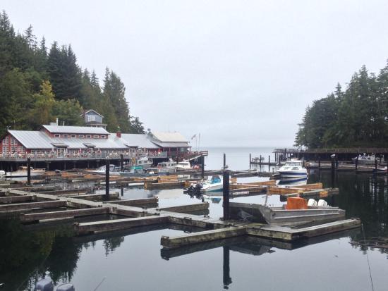 Telegraph Cove Resort: Telegraph Cove dock