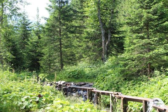 Rauris, Austria: Goldwaschplatz Kolm-Saigurn