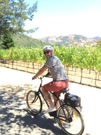 Calistoga Winery Bike Tour
