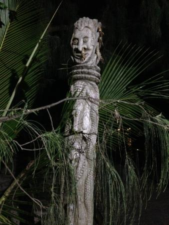 Pacific art at the resort