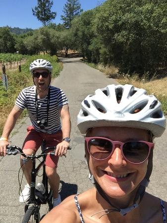 Napa Valley Winery Bike Tour