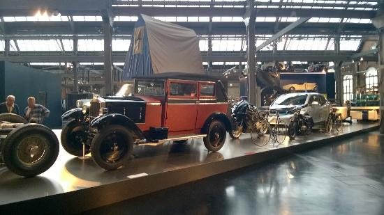 Saechsisches Industriemuseum: Cars - old, new and interesting
