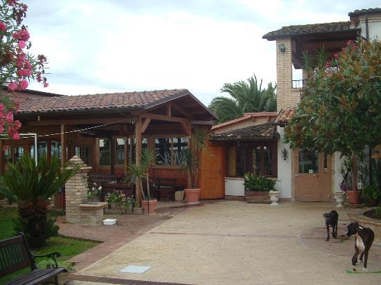 Country House San Pietro: Il ristorante
