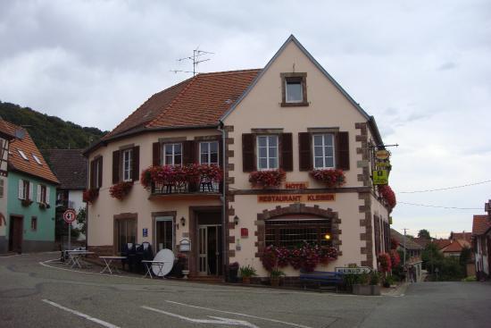 Hotel Restaurant Kleiber : Hotelansicht