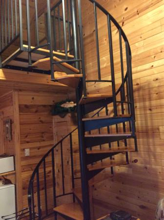 Westby, WI: Spiral staircase