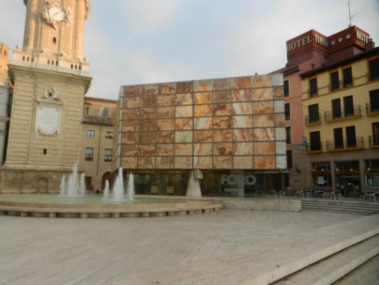 Parte de una columna - Picture of Museo del Foro de Caesaraugusta, Zaragoza -...