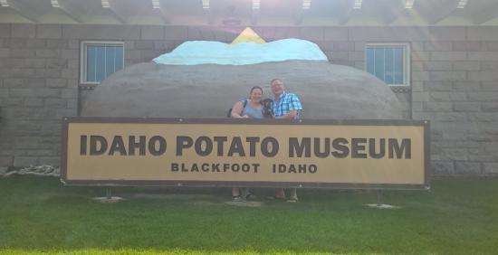Blackfoot, ID: Giant potato