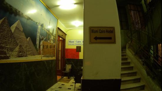 Miami Cairo Hostel: Вид с лестницы