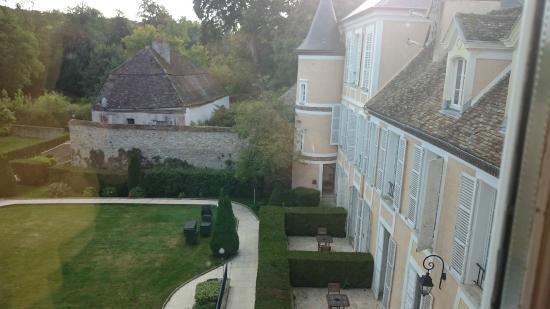 Hotel Saint-Laurent : vue jardin