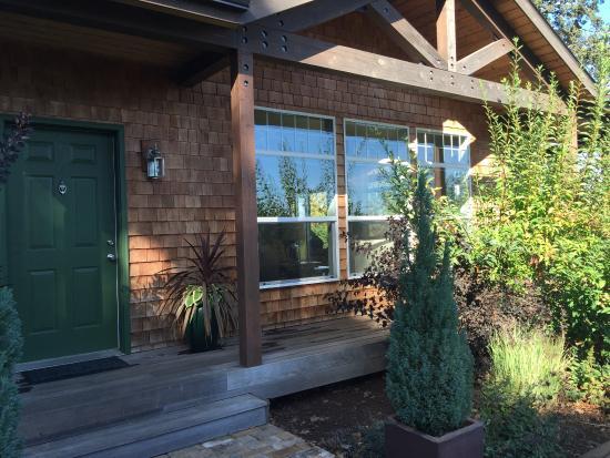 Entrance at Stoneycrest Cottage