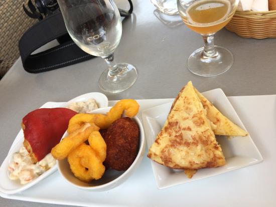 The food is ok billede af bar es firo s ller tripadvisor for Food at bar 38