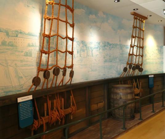 Banneker-Douglass Museum: Slave Ship