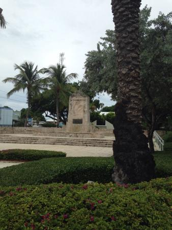 Hurricane Monument : Very moving to reflect on the 700 lives lost during this famous hurricane