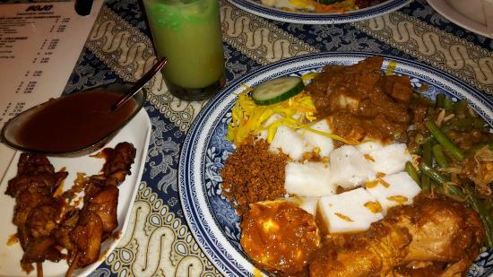 Bojo Restaurant: Indonesische Reistafel