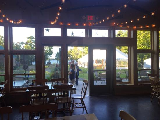 River Drivers Restaurant: view as you enter the front
