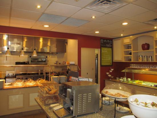 Breakfast Buffet Area Picture Of Hilton Garden Inn