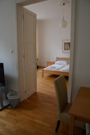Belvedere Appartements: From Living Room To Bedroom(apartment 12a East Side  Of Road)