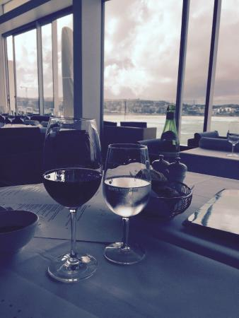 wine with a view - picture of icebergs dining room & bar, bondi