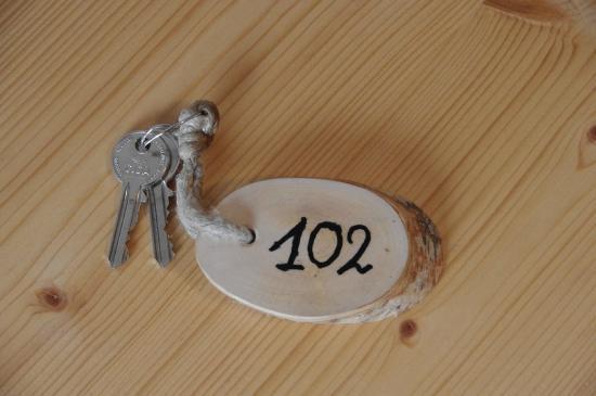 Gasthof Bad Siess: Zimmerschlüssel für 102