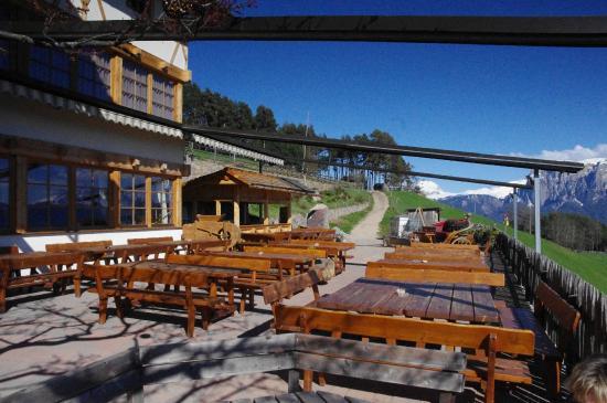 Gasthof Bad Siess: Der Biergarten
