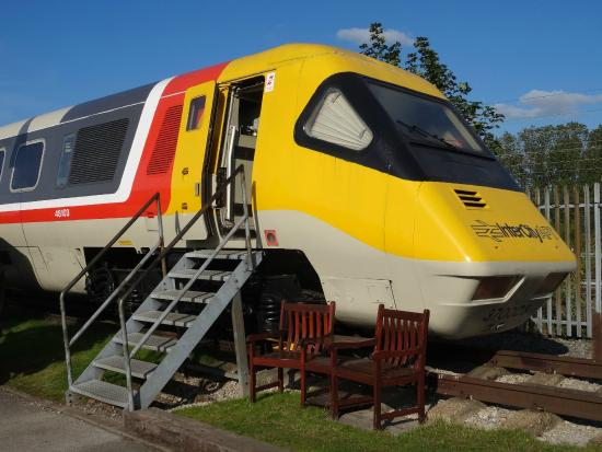 Crewe Heritage Centre: Advanced Passenger Train (APT)