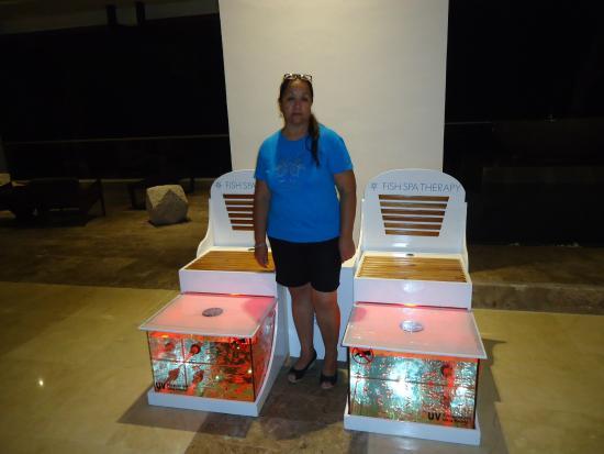 Hyatt Ziva Puerto Vallarta: Fish Spa, en el Hyatt