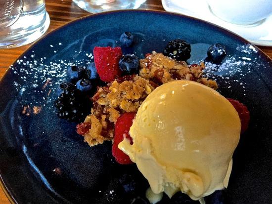 dessert at orchard kitchen - Orchard Kitchen