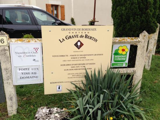 Saint-Sulpice-et-Cameyrac, ฝรั่งเศส: La Grave