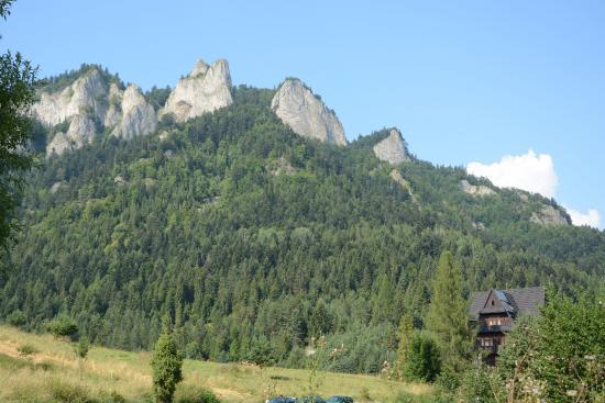 Trzy Korony summit from Dunajec river
