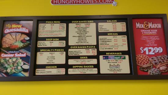 Hungry Howie's Pizza: Pictures from Hungry Howie's in Santa Rosa, Fl (near Destin)