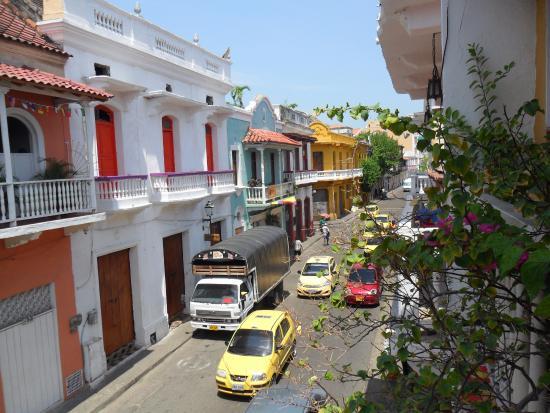 Hotel Marlin: Vista desde el hostel