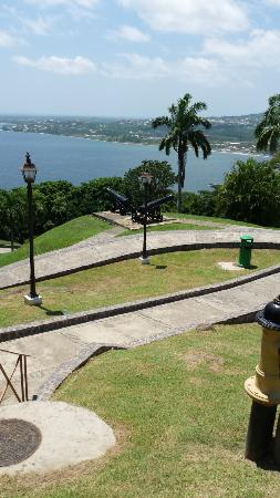 Scarborough, Tobago: View from the fort