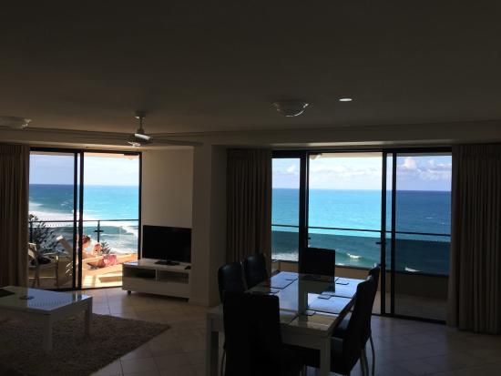 Coolum Beach, Австралия: View from our apartment Clubb Coolum