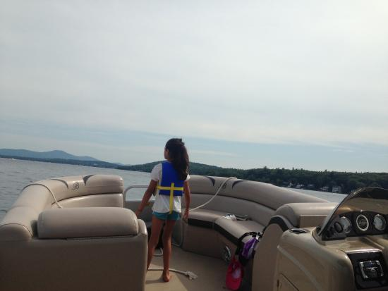 Anchor Marine Boat Rentals: Like a giant living room cruising in the sun!
