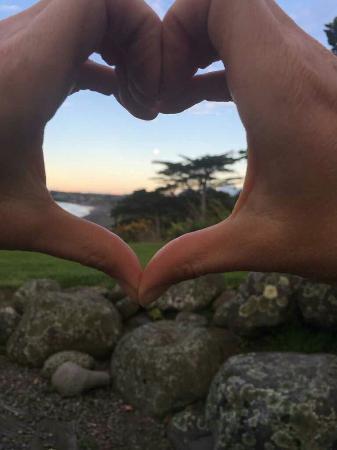 New Plymouth, Nieuw-Zeeland: Ahu Ahu Beach Villas