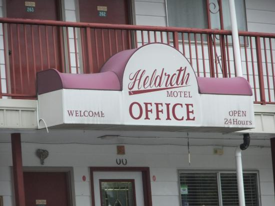 Heldreth Motel: Motel
