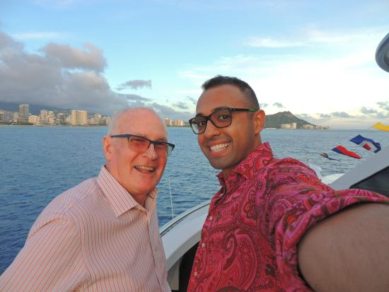 Star of Honolulu - Dinner and Whale Watch Cruises: Enjoying the view from the upper deck